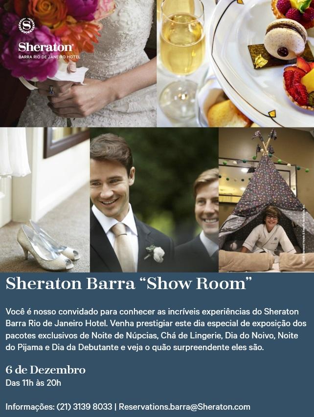 Convite evento Sheraton